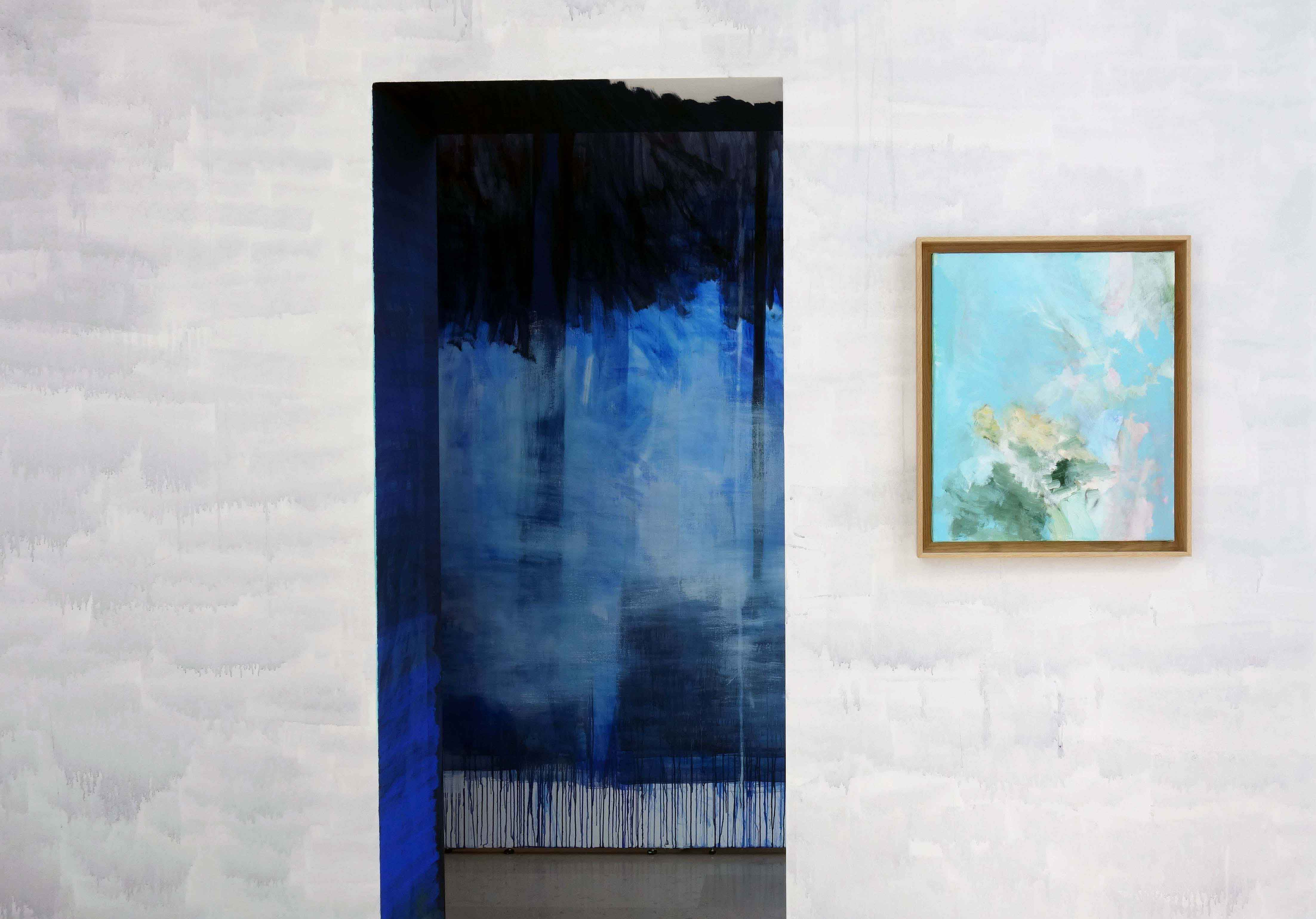 emmanuelle rosso artiste visual art blue theater project troupe erratum peinture paintings